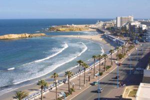 Maghreb - Monastir-la plage de Monastir- Cityvol Voyages