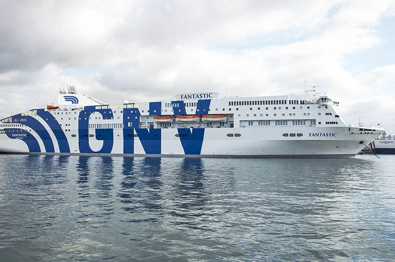 GNV ferry cityvol voyages
