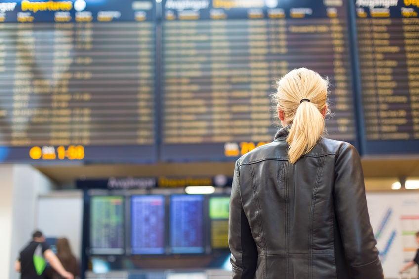 horaires de départ et d'arrivée des vols