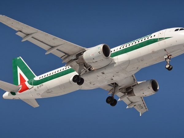 alitalia avion en vol